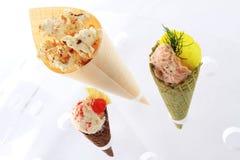 Canape cone selection Stock Photos
