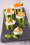 Canape food Royalty Free Stock Photography
