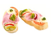 Canape Stock Photos