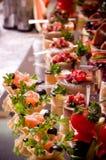 Canape pour une réception d'événement Image stock