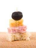 Canape saboroso Imagem de Stock