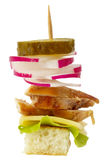 Canape snack Stock Photography