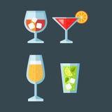 Canape snacks vector illustration. Stock Photo