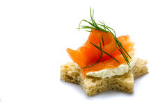Christmas seafood buffet royalty free stock photography for Canape garnishes