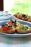 Canapes Photo stock