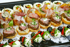 Canapes Stock Photos