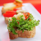 Canapes Royalty Free Stock Photography