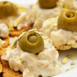 Canapes Stock Image