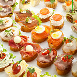canapes Royalty-vrije Stock Foto