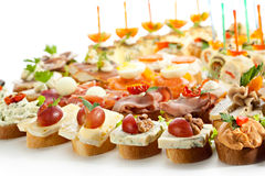 canapes Royaltyfria Bilder
