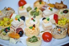 canapes Image stock