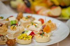 canapes Stockbilder