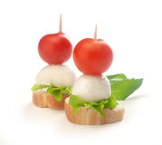 canapes Imagens de Stock Royalty Free