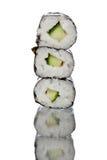 Canapes del sushi Foto de archivo