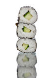 Canapes do sushi Foto de Stock