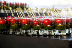 Canapes food Royalty Free Stock Image