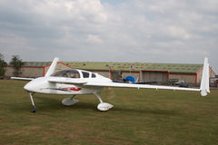 Canard 4 seatervliegtuigen Stock Afbeelding