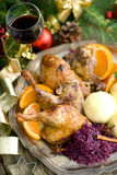 Canard, Christmas time Royalty Free Stock Images