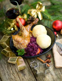 Canard, Christmas time Royalty Free Stock Photo