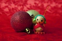 Canard d'ornement de Noël Images libres de droits