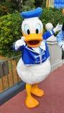 Canard de Donald en monde de Disney Photographie stock libre de droits