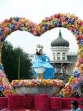 Canard de marguerite dans Disneyland, (Tokyo, le Japon) Photos libres de droits