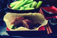 Canard de Pékin Photos stock