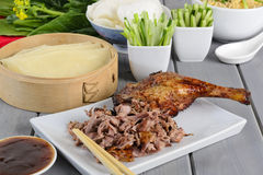 Canard de Pékin Image stock