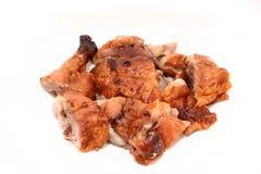 Canard de rôti de barbecue Photos stock