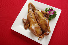 Canard de rôti de la Chine Photos stock