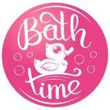 Canard de temps de Bath Photographie stock