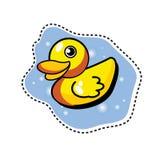 Canard en caoutchouc Image stock