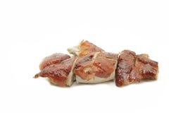 Canard et porc rôtis de barbecue Photo stock