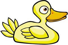 Canard jaune Images libres de droits