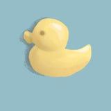 Canard jaune Photo stock