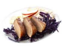Canard rôti Image stock