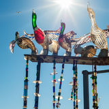 Canards dans Murano Photo libre de droits