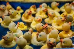 Canards en caoutchouc Image libre de droits