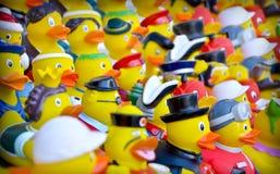 Canards en caoutchouc Photos libres de droits