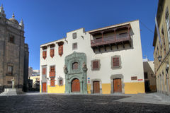 canaria columbus de gran hus Las Palmas spain Arkivfoto
