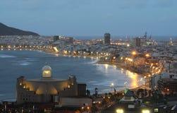 canaria de gran Las Palmas 免版税库存照片