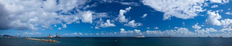 canaria de gran Las Palmas Arkivfoton