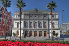 canaria de gran Las Palmas spain theatre Royaltyfri Fotografi