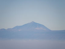 canaria gran βουνά Στοκ Φωτογραφία