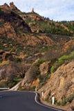 canaria gran βουνά Στοκ εικόνες με δικαίωμα ελεύθερης χρήσης
