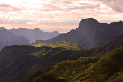 canaria gran βουνά Στοκ Εικόνες
