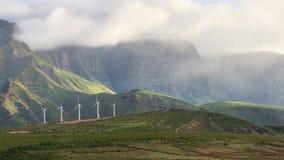 canaria gran βουνά Στοκ Εικόνα