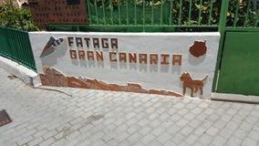 canaria gran Arkivbild