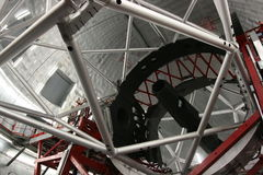 canaria gran gtc teleskop Zdjęcie Stock