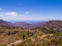 canaria granu góry Obrazy Stock